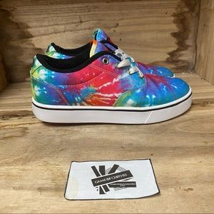 Hellys multicolor canvas wheel sneakers